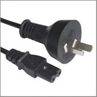 Quality Argentina power supply cord with C7 connector, Argentine cord set for sale