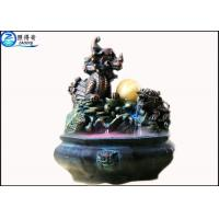 Quality Water Fountain Waterscape Decoration Kirin Turtle Life Feng Shui Wheel Home Decor Crafts for sale