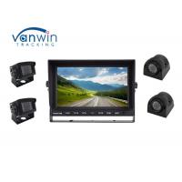 Quality Sturdy 4CH 1080P LCD Quad Car Video Monitors DVR 12~24V With 4 Channel HD Inputs for sale