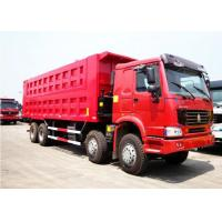 Buy cheap Sinotruk Howo 50 Ton Dump Truck For Construction And Mineral Material Transporta from wholesalers
