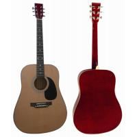 Quality Spruce Basswood Wood Acoustic Guitar 41 inch with Rosewood Fingerboard AF4129A for sale