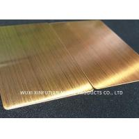 Quality NO3 Finish 430 Cold Rolled Stainless Steel Plate Gauge 19 Size 4 X 8 for sale