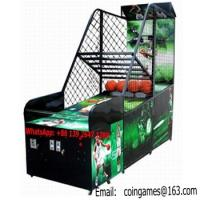 Buy Amusement Park Equipment Arcade Coin Operated Street Basketball Games Machines at wholesale prices