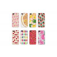 Quality Summer Fruit TPU Durable Cell Phone Back Cover For Iphone 6 6S 7 7Plus 8 8Plus X for sale