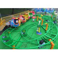 Quality Mini Snail Shape UFO Roller Coaster Customized Height With Chain Lift Structure for sale