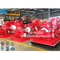 Quality Double Suction Diesel Engine Fire Pump Set With UL Listed , 1250gpm Flow for sale