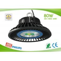 Quality IP65 80w Led High Bay Lights Commercial Led High Bay Lighting Philips 3030 SMD for sale