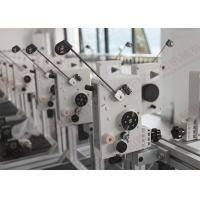 Quality High speed Auto Coil Winding Machine Parts With Polished ceramic eyelets , QH-MTCS for sale