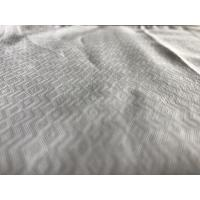 Quality T/C 57/8 Width Jacquard Yarn Dyed Cotton Fabric  For Clothes / Mens Shirt Apparel for sale