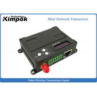 Quality Full Duplex Wireless Ethernet Video Transceiver , RJ45 COFDM Transmitter Receiver for sale