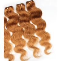 Buy Colorful Human Hair Extensions For Girls , Colored Real Hair Extensions at wholesale prices
