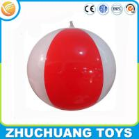 Quality clear pvc inflatable beach balls for sale