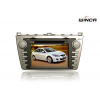 Quality Mazda 6 2009-2011 Multimedia Support Audio GPS Navigation Bluetooth MP3 Radio Playstore for sale