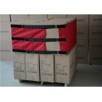 China Black / Red Color Reusable Pallet Wrap  Nylon Straps For Medical Equipment on sale