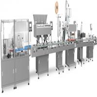 Integrated Filling Production Line Touch Screen Operation Fit Tablets / Capsules / Pills