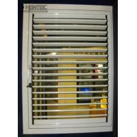 Quality AAMA DIN Standard aluminum blinds extrusion profiles Polished or Wood Grain OEM for sale