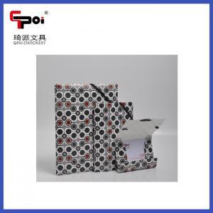Buy Wholesale PP Stationery Elastic Printing File Folder Document File Folder at wholesale prices