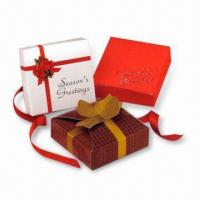 Quality Gift Boxes, Suitable for Advertising Purposes, Made of Gray Board, Available with Printing for sale