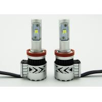 Quality Custom XHP50 H11 Cree LED Headlight Bulbs 6500K Plug & Play 360° Light Angle for sale