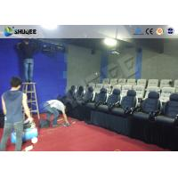 Quality Game 7D Cinema System With Numerous Effects Set Up In Store Front , Walking Streets for sale