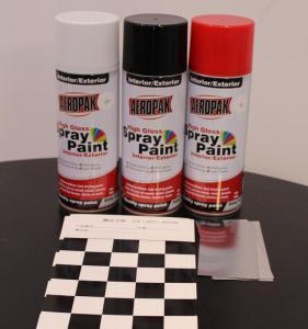 Quality Aeropak Automotive Aerosol Spray Paint , Fast Dry Acrylic Spray Paint For Wood for sale