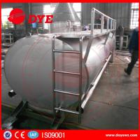 Quality Farm Used 3000L Sus304 Milk Cooling Tank 500-10000L Manual ISO9001 for sale