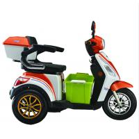 Quality 3.00-10 / 3.00-10 Wheel Size Foldable Electric Scooter Front / Rear Full Charge Endurance for sale