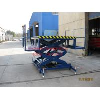 Quality Warehouse Stationary Manual Hydraulic Lift Hydraulic Drive For Equipment Installations for sale