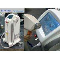 Buy cheap FDA Pain Free Diode Laser Hair Removal Machines 808nm And 810nm Wavelength from wholesalers