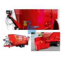 Buy Hay Grinder Mixer Feed Trailer With Auger And Electronic Weighting System at wholesale prices