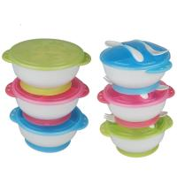 Quality Multi Color Toddler Tableware Sets High Temperature Proof Rounded Smooth for sale