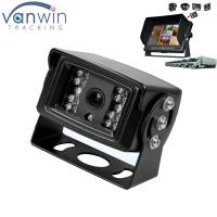 Quality Universal Mount Infrared Adjustable Angle Rear View Back Up Camera with Anti-Glare Shield for sale