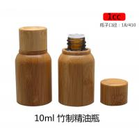 Quality empty 0.33 ounce 10ML medicine bamboo cosmetic oil bottle for sale