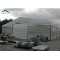 Quality Customzied Shape Aircraft Hangar With Wide Space , Wind Resistant for sale