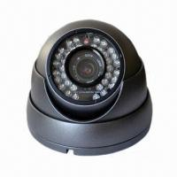 Quality Indoor Wired Dome P2P IP Network Camera, 1/3-inch Sony 600TVL CCD Sensor for sale