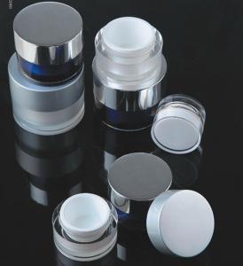 Quality high quality acrylic plastic cosmetic jar 5g 10g 15g 30g 50g 100g 200g for sale
