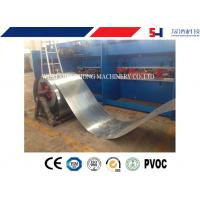 Quality Sheet Roll forming machine for channel / purlin with punching process for sale