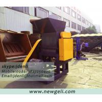 Quality 2tons crusher,plastic shredder,waste plastic bottle crushing and washing machine for sale