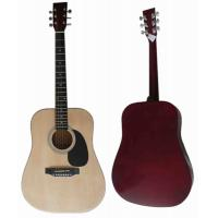Quality 41 inch Junior Basswood Wood Acoustic Guitar Classic Western Guitar AF4110A for sale