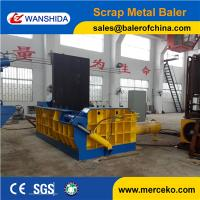 China 160ton force Scrap Metal Baler to concentrate scrap hms 1&2 for metal smelting industry on sale