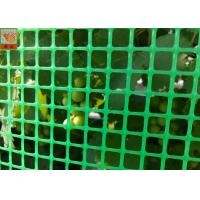 Quality Green Plastic Garden Fence Mesh , 1m Height Garden Wire Netting Fence for sale