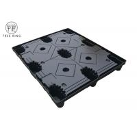 China TP 1210 HDPE Plastic Pallets , Thermoformed Plastic Pallets With Top Cap / Cover on sale