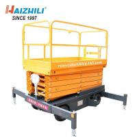 China Aloft Work Traction Heavy Duty Scissor Lift Multi Fuctional Safety Guaranteed on sale