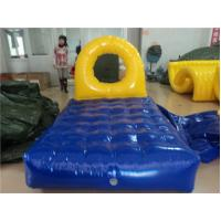 Inflatable PVC Tarpaulin Water Toys for Kids , Water Gyro Green and White