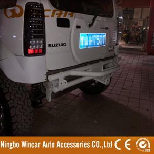 Quality Original Size 4x4 Car Rear Bumper Pickup Bull Bar For SU Jimny OEM / ODM Service for sale