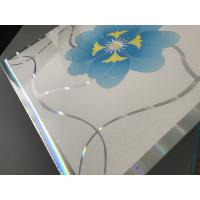 Buy Decorative Plastic Ceiling Tiles , Pvc Gypsum Board Building Material at wholesale prices