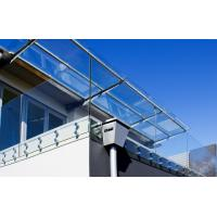 Quality Frameless stainless steel glass balustrade with Patch Fittings for sale
