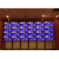 Quality 6.7mm Indoor LED Video Wall Mounted With 46'' Super Narrow Bezel for sale