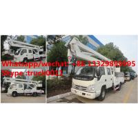China factory sale best price forland 4*2 RHD 11m aerial bucket truck, hot sale forland 11m overhead working platform truck on sale