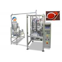 China High Speed Liquid Packaging Machine For Ketchup / Fruit Jam 2.2Kw Power on sale